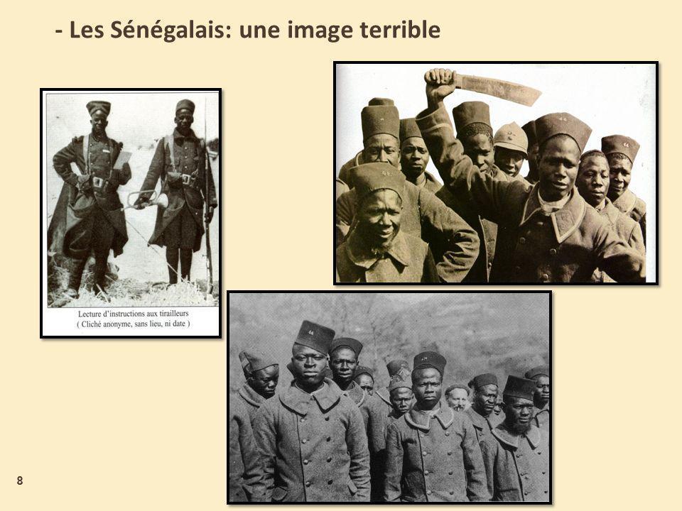 - Les Sénégalais: une image terrible 8