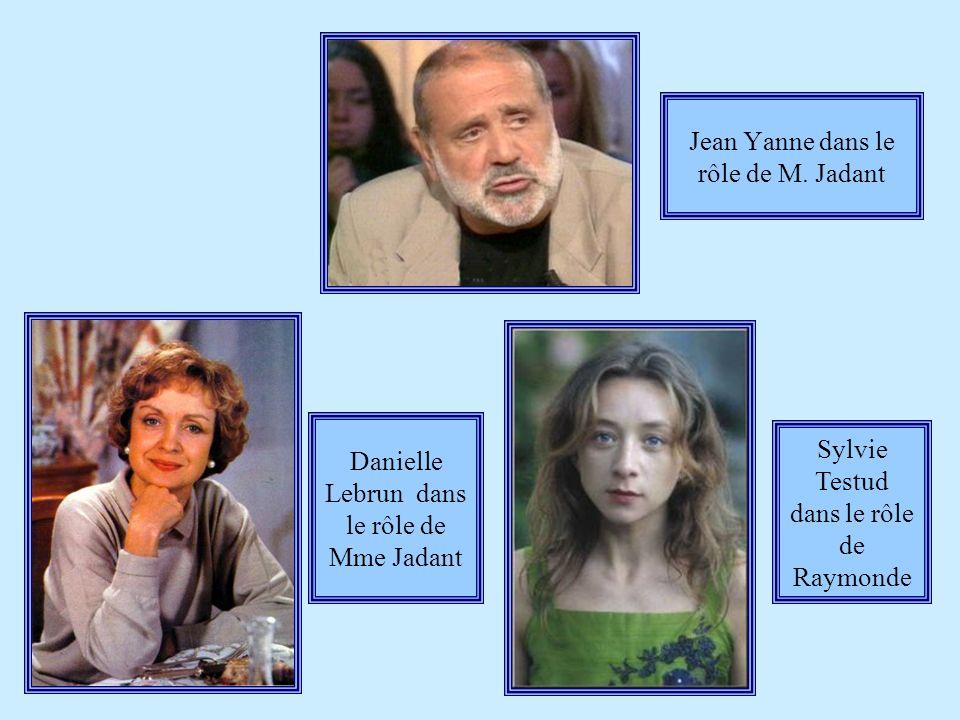 Jean Yanne dans le rôle de M.