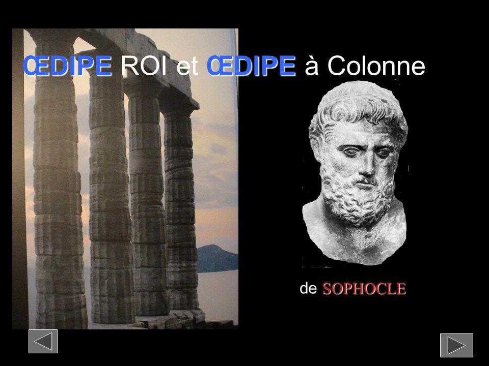 ŒDIPEŒDIPE ŒDIPE ROI et ŒDIPE à Colonne SOPHOCLE de SOPHOCLE