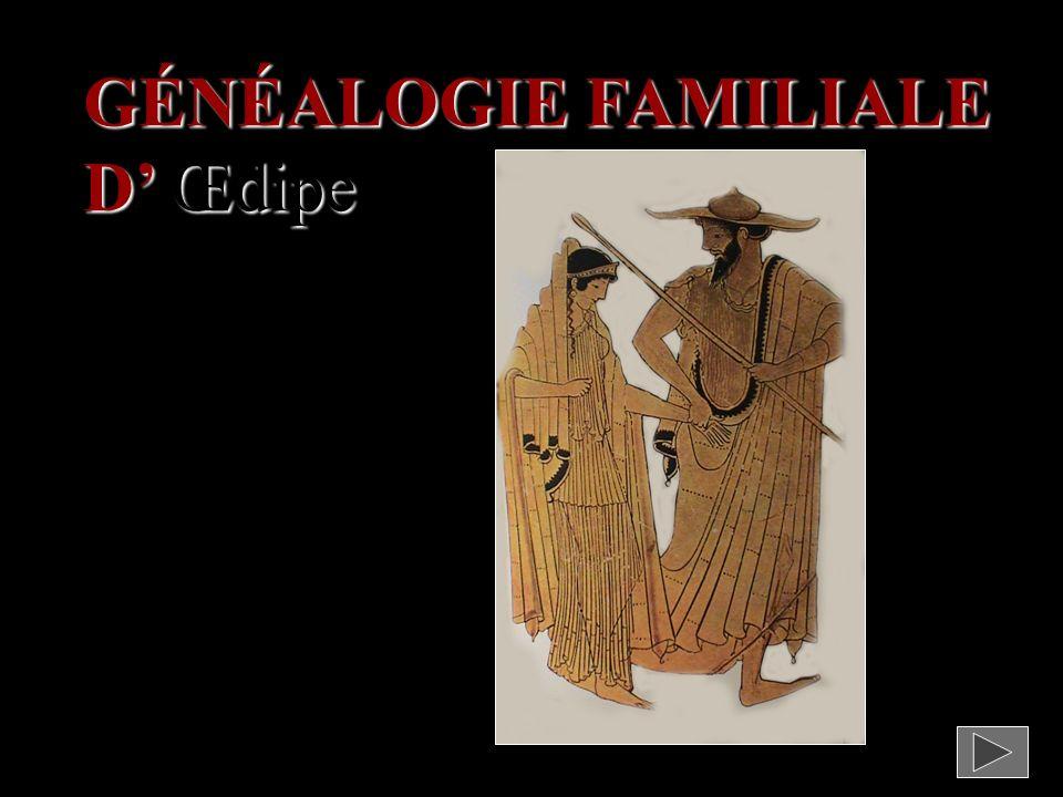 GÉNÉALOGIE FAMILIALE D Œdipe