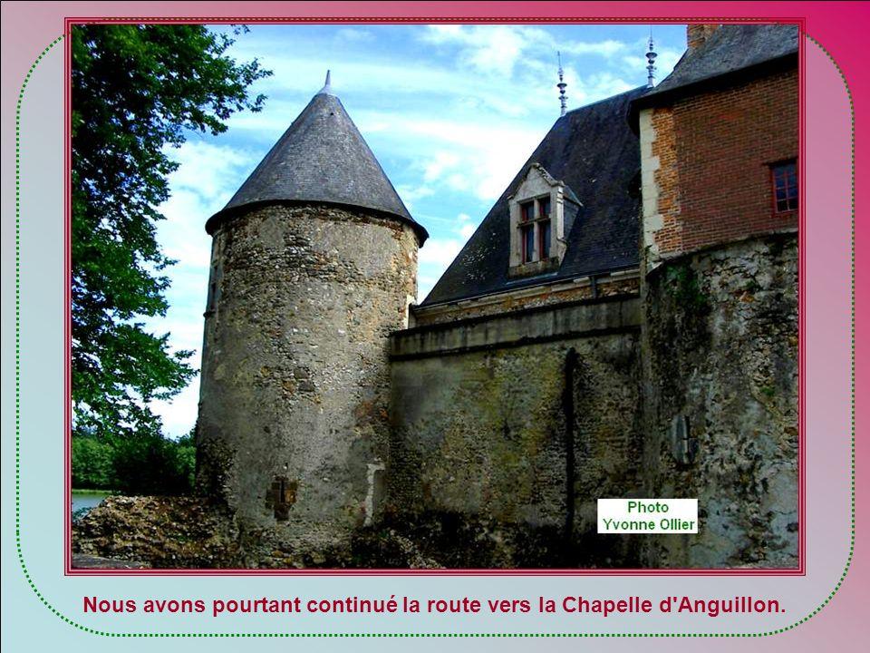 Ce château, qui accueille des hôtes payants, a un slogan qui me fait rêver :