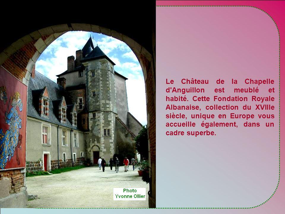 Nous avons pourtant continué la route vers la Chapelle d'Anguillon.