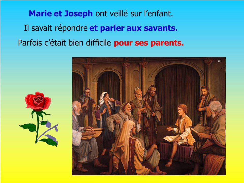 .. Lenfant de Marie est venu à Noël Il reçut le nom de Jésus Mais pour elle, Sa naissance était un mystère, un grand secret.