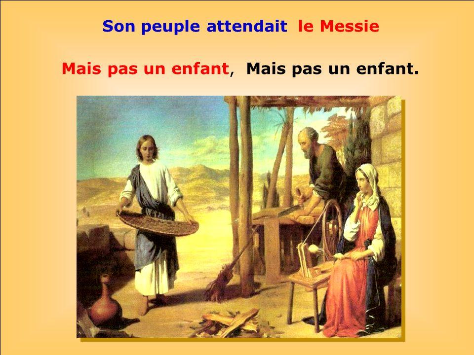 .. Marie et Joseph ont veillé sur lenfant. Il savait répondre et parler aux savants. Parfois cétait bien difficile pour ses parents.