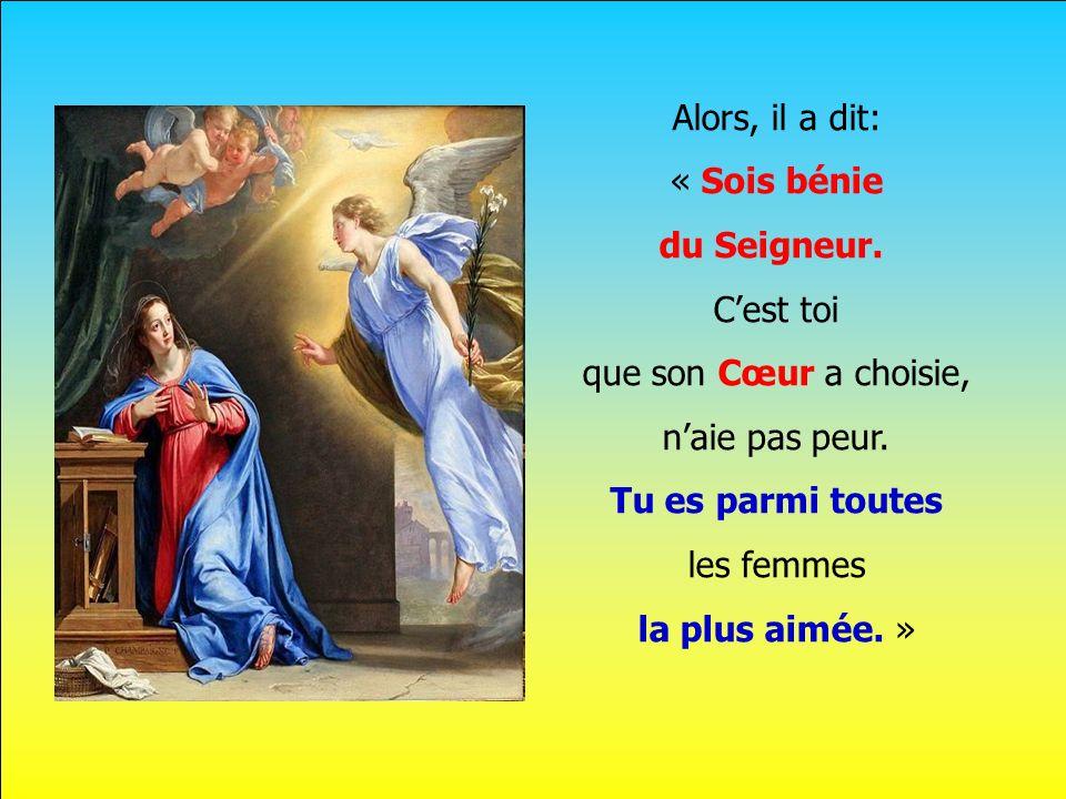 .. Un ange est venu voir Marie ce jour-là. Elle a sans doute eu peur de lui, mais voilà: Il avait un message étrange à lui confier.