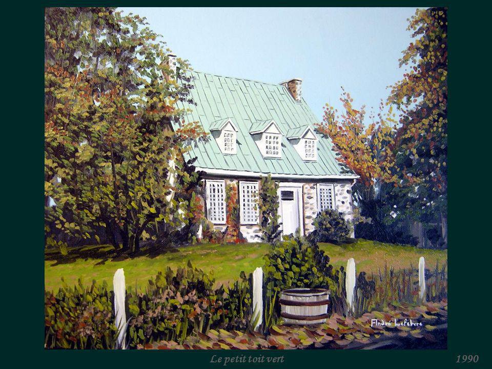 La maison blanche (Beloeil)1990
