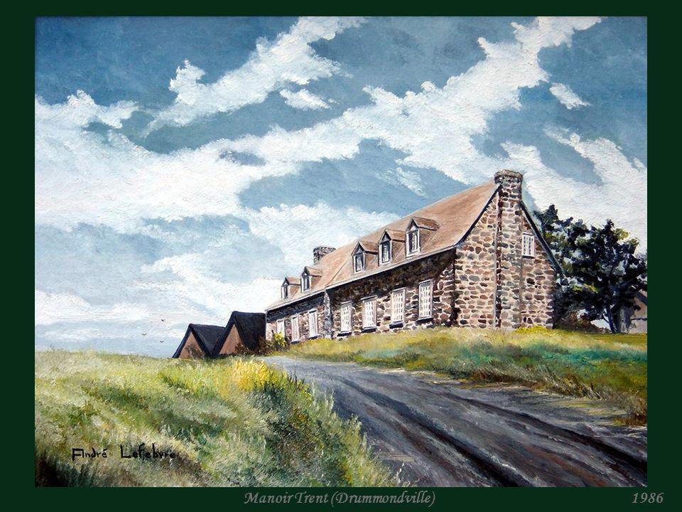 André Lefebvre Artiste peintre Collection : Maisons ancestrales du Québec.