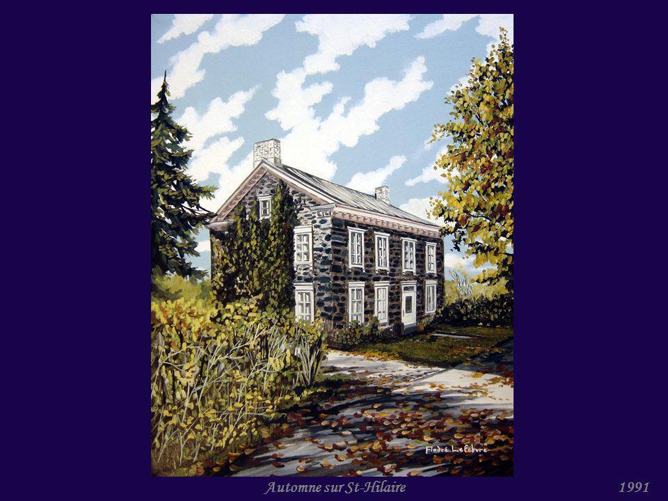 Maison avec tour II (St-Hilaire)1991