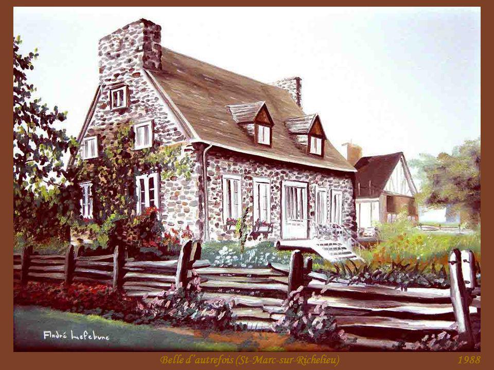 La belle maison (St-Marc-sur-Richelieu)1987