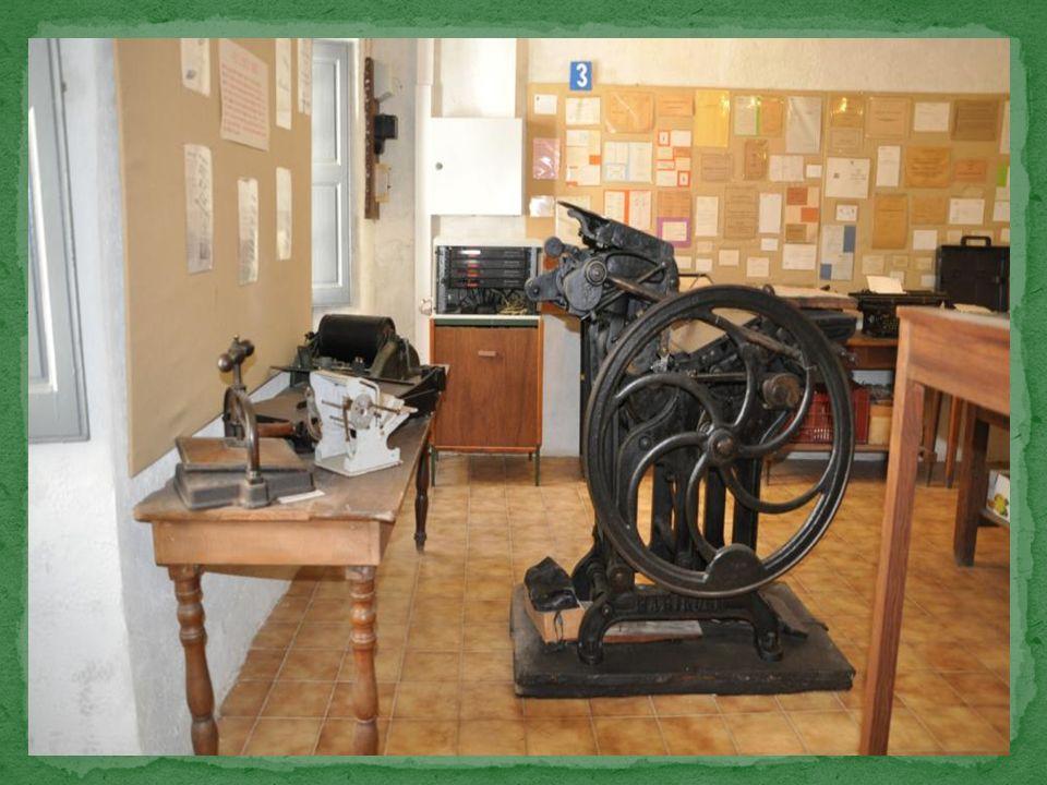 Pascal Paoli a créé à Cervione la première imprimerie de Corse.