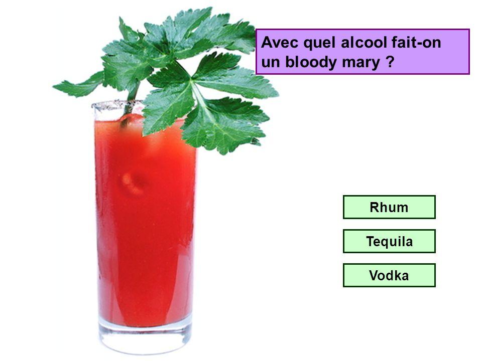 Avec quel alcool fait-on un Cuba Libre ? Champagne Rhum Tequila