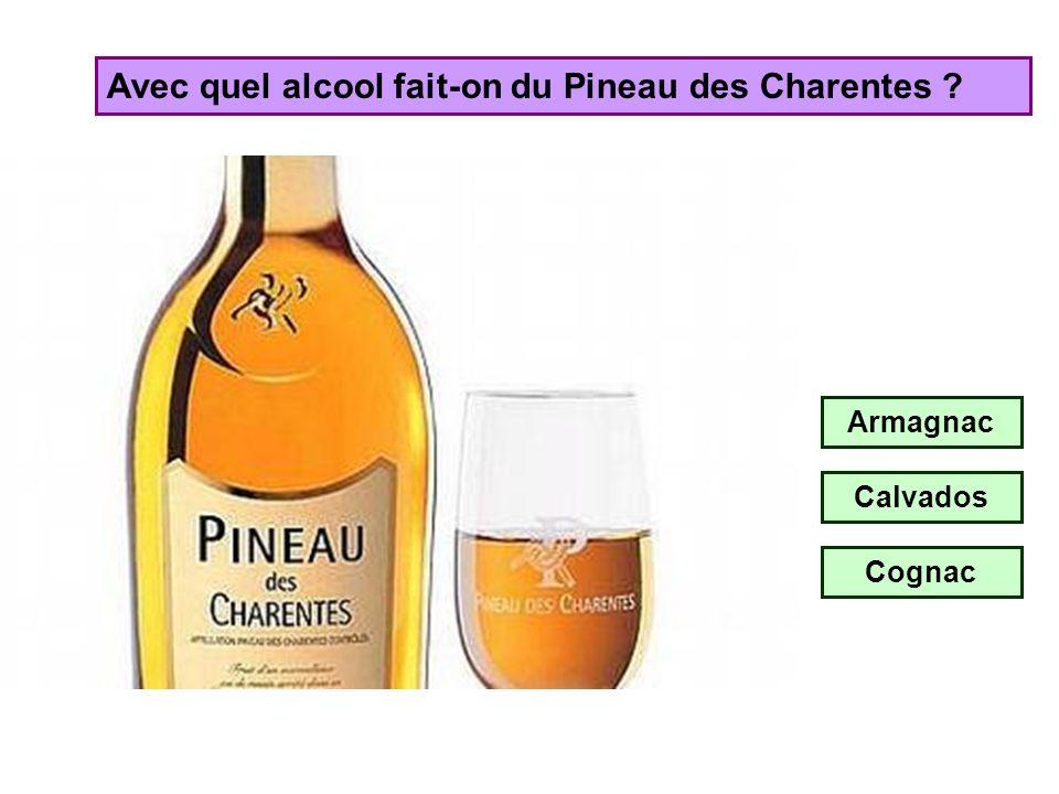 Avec quel alcool fait-on le Floc de Gascogne ? Armagnac Calvados Cognac