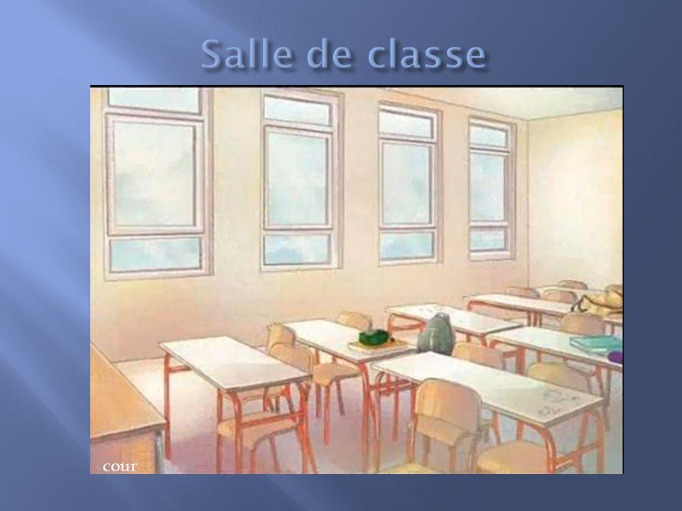 Objectif : rechercher la personnes qui a vue la fantôme Salle de classe Salle de prof jardincourrue