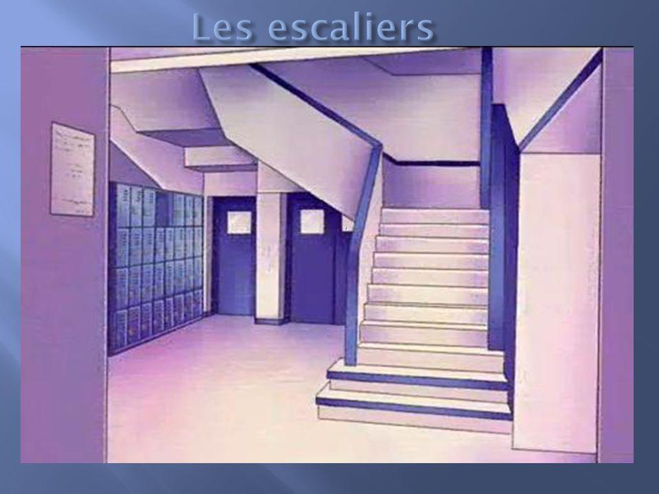 cour Objectif : trouvez 2 objets suspecte a la fantôme Objectif valider : trouvez la personnes qui a vu la fantôme Nouvelle place débloquer : les escalier du lycée Les escalier