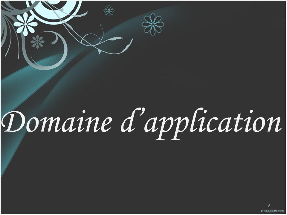 Domaine dapplication 9