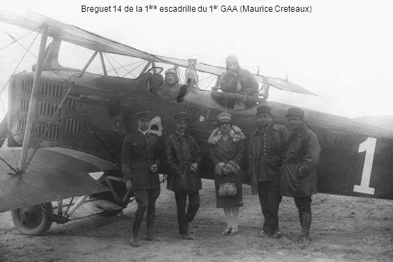 Breguet 14 de la 1 ère escadrille du 1 er GAA (Maurice Creteaux)