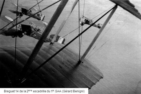 Breguet 14 de la 2 ème escadrille du 1 er GAA (Gérard Benigni)