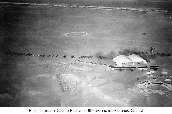 Prise darmes à Colomb-Béchar en 1926 (Françoise Fouques Duparc)