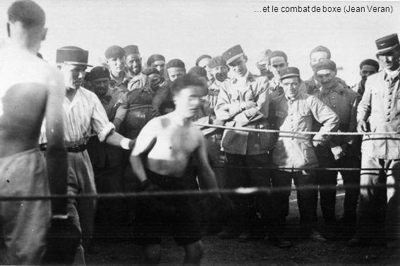 …et le combat de boxe (Jean Veran)