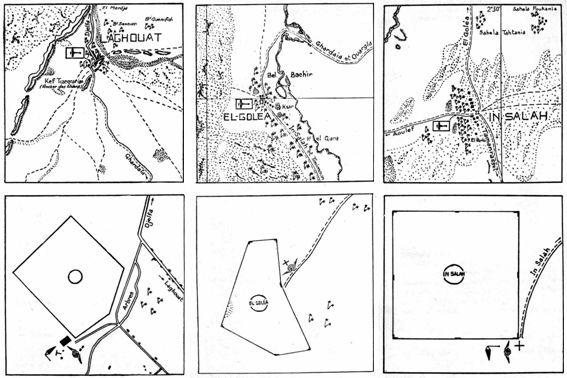 Aérodrome dOran-La Sénia en 1925 – Au nord : les hangars à dirigeables