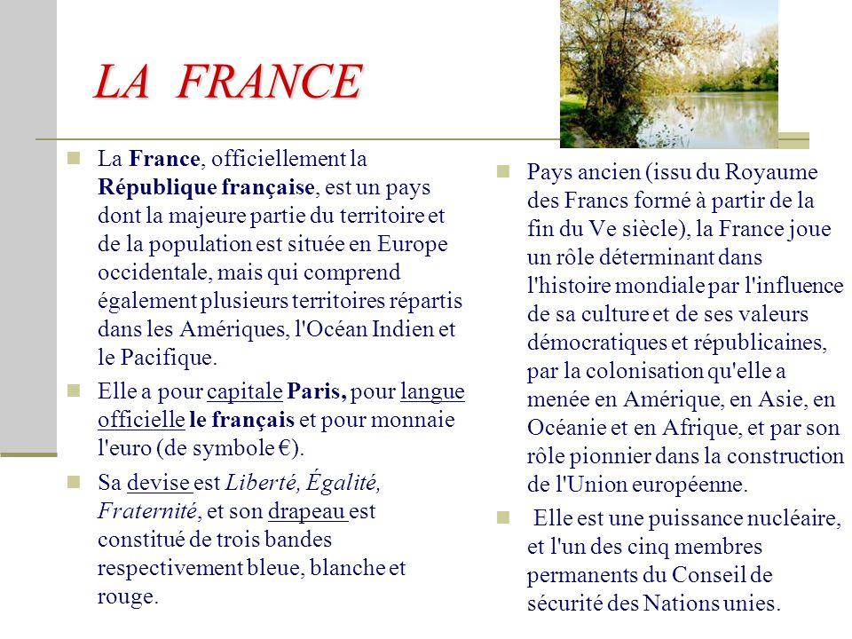 Patrimoine architectural La France possède un riche patrimoine architectural.