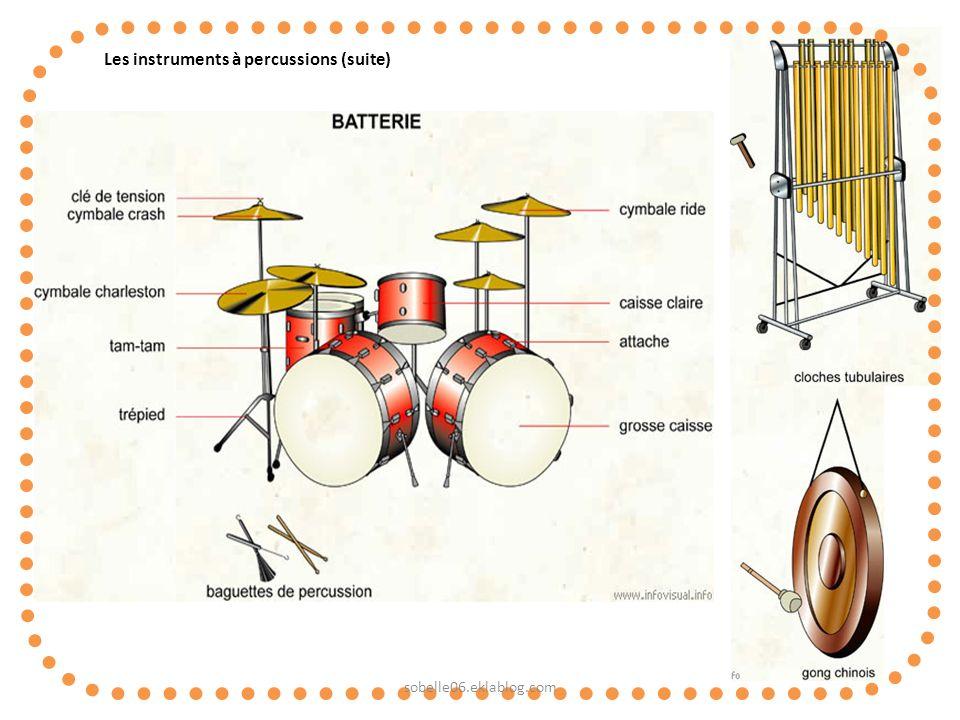 Les instruments à percussions (suite) sobelle06.eklablog.com