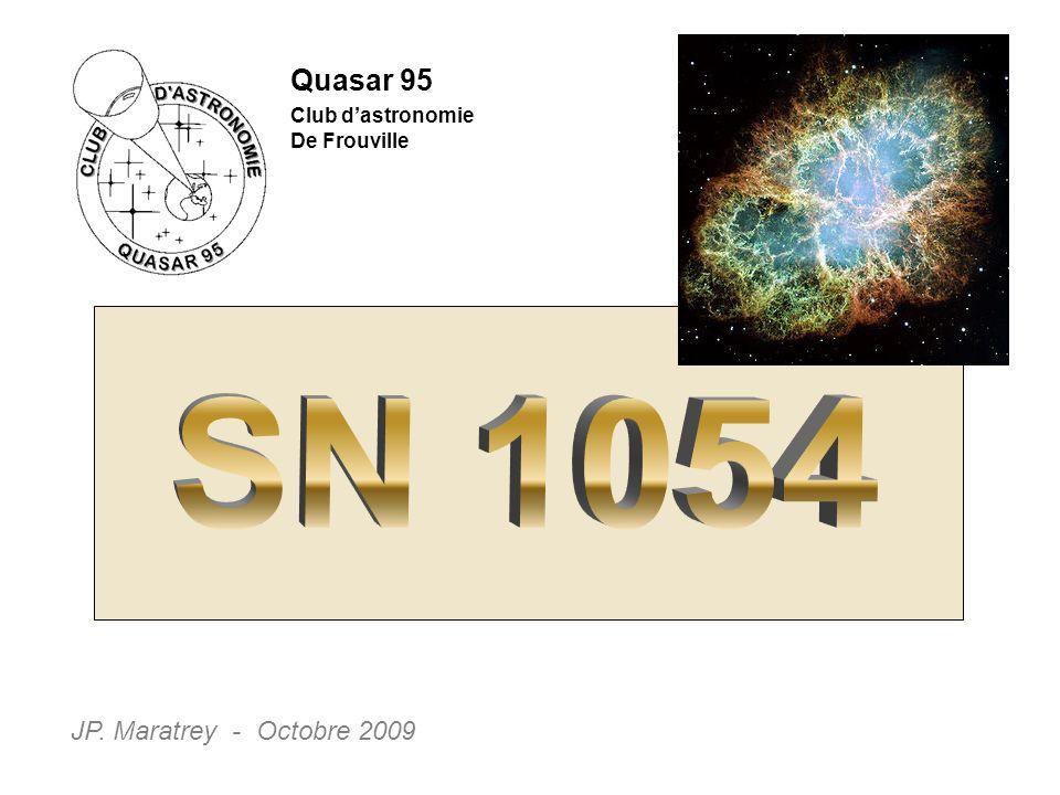 Quasar 95 Club dastronomie De Frouville JP. Maratrey - Octobre 2009