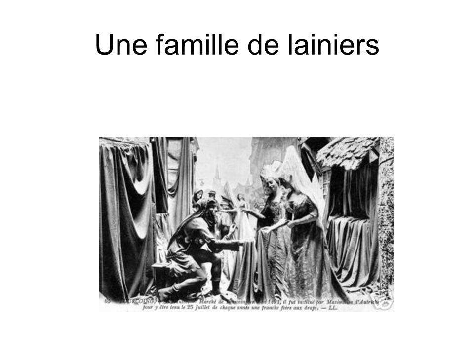 Une famille de lainiers