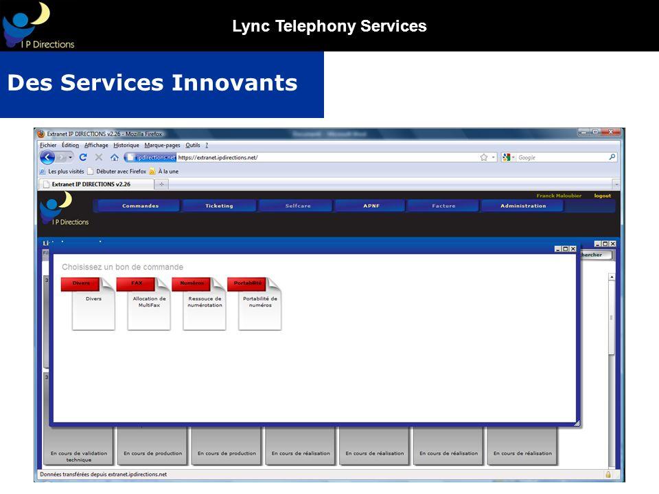 Lync Telephony Services Des Services Innovants