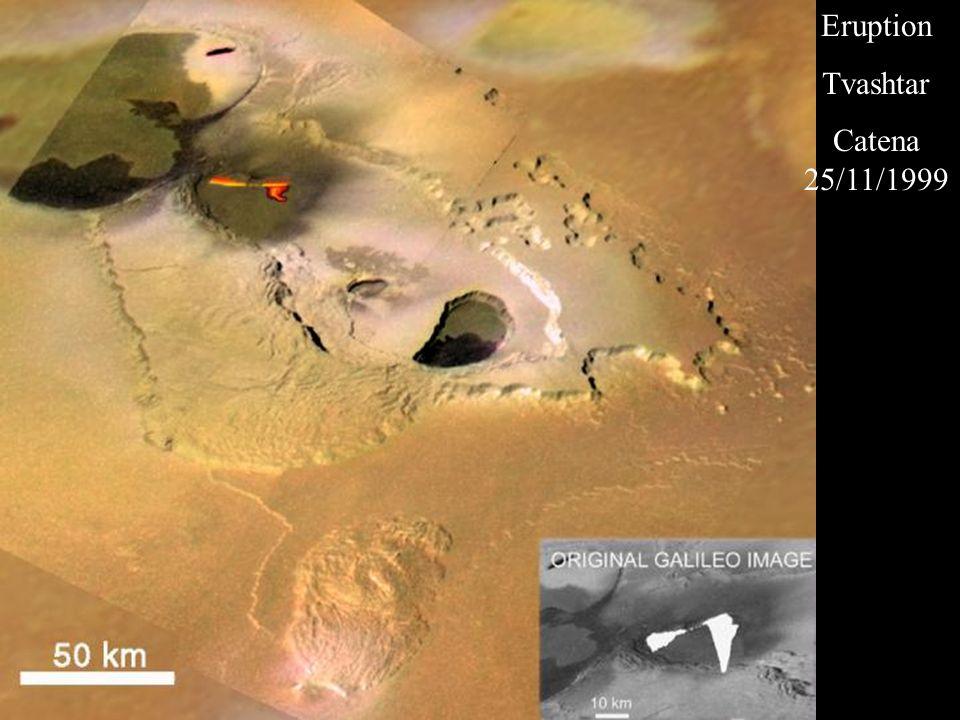 Eruption Tvashtar Catena 25/11/1999