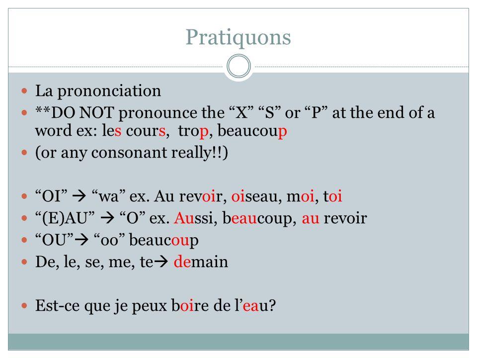 JadoreNous adorons Tu adoresVous adorez Il/elle/on adoreIls/elles adorent *Pronounced exactly the same.
