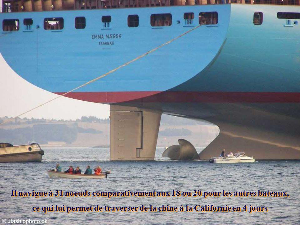 La cabine de pilotage fait plus de 10 étages La cabine de pilotage fait plus de 10 étages