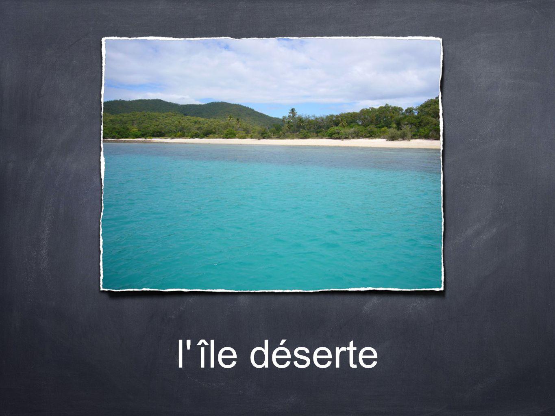 l île déserte