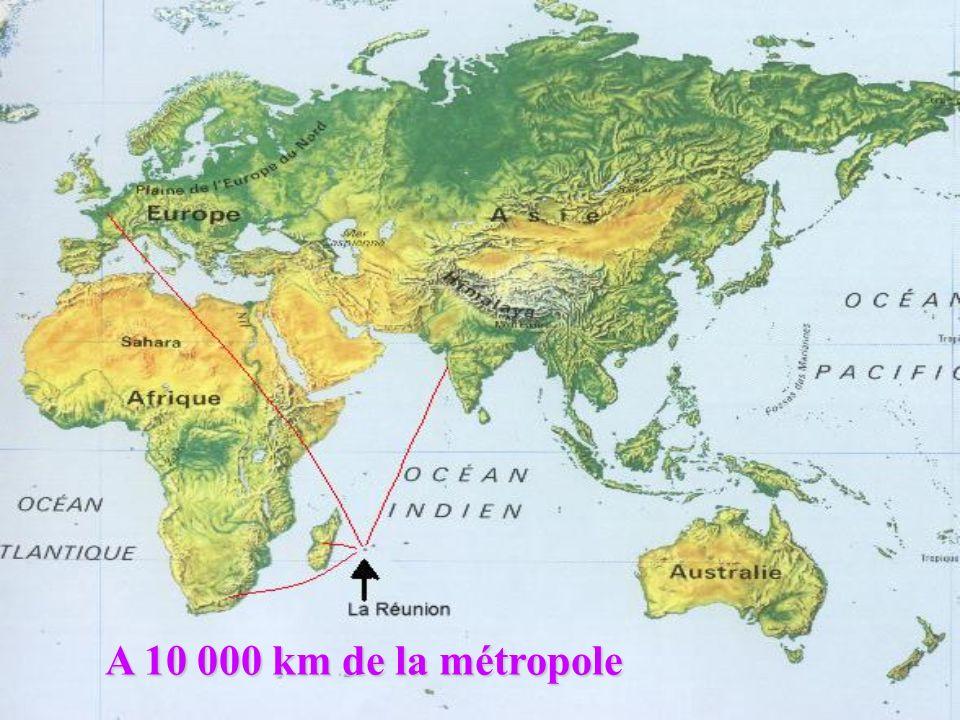 Le paradoxe de l île L est : la région humideL ouest : la région sèche