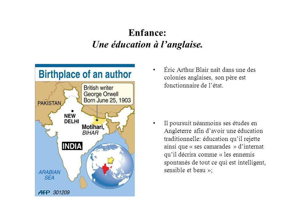 Enfance: Une éducation à langlaise.