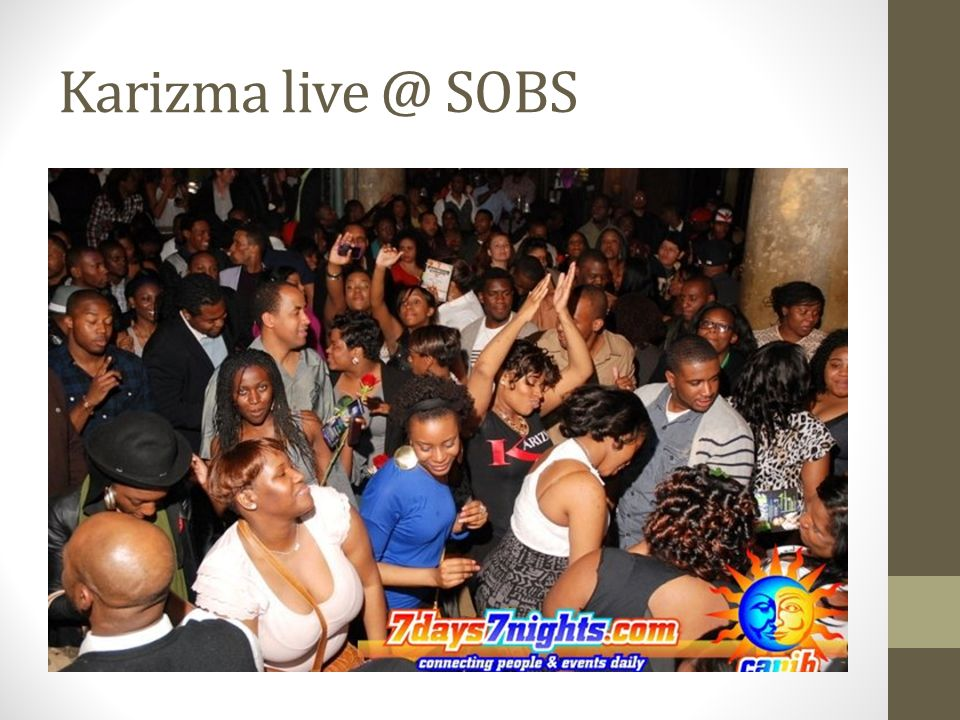 Karizma live @ SOBS