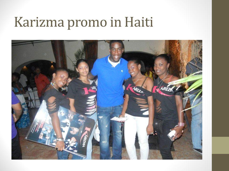 Karizma promo in Haiti
