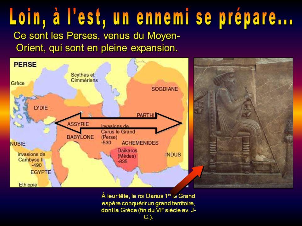 Dabord, les Grecs colonisent les côtes de la Méditerrannée, de lOuest à lEst 1 e vague de coloni- sation : de 800 à 675 avant Jésus- Christ. 2 e vague