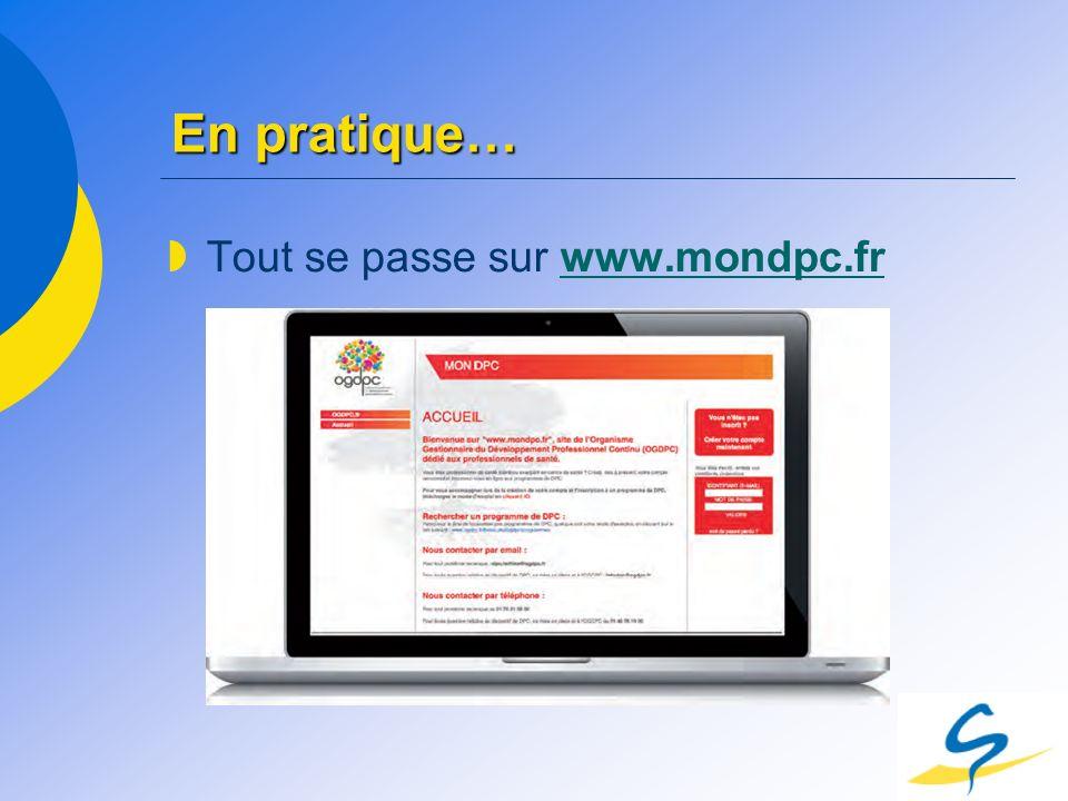 En pratique… Tout se passe sur www.mondpc.frwww.mondpc.fr