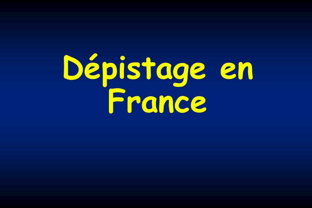 Dépistage en France