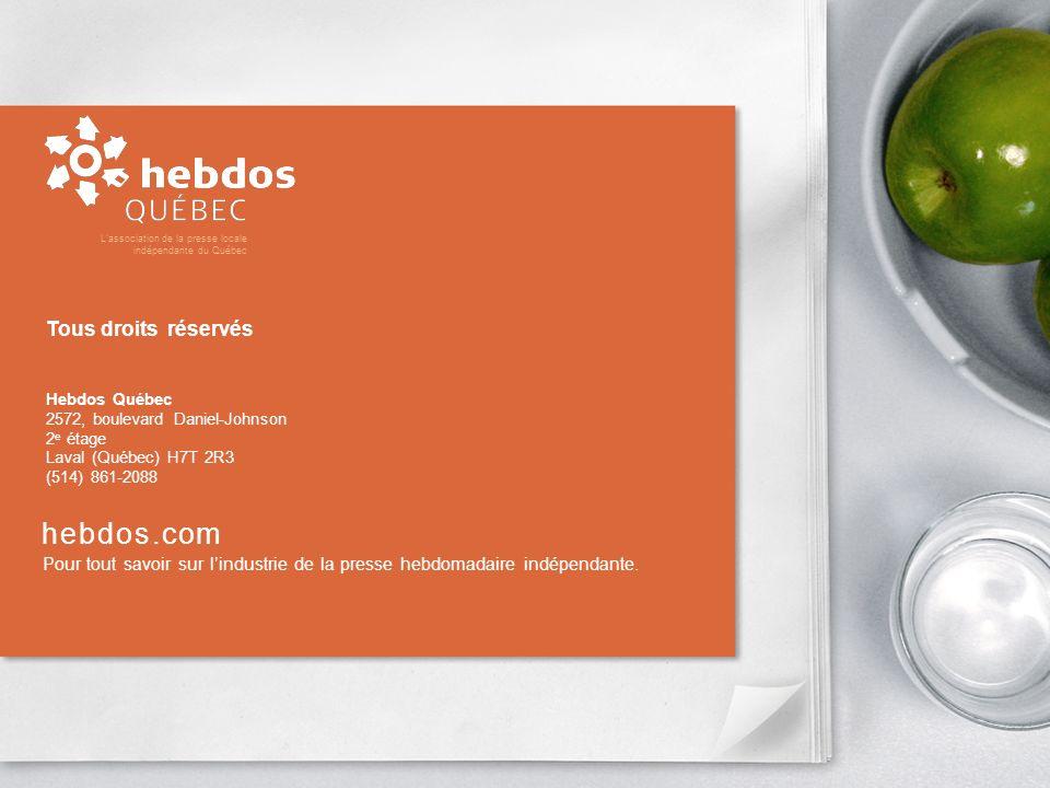 hebdos.com Pour tout savoir sur lindustrie de la presse hebdomadaire indépendante.