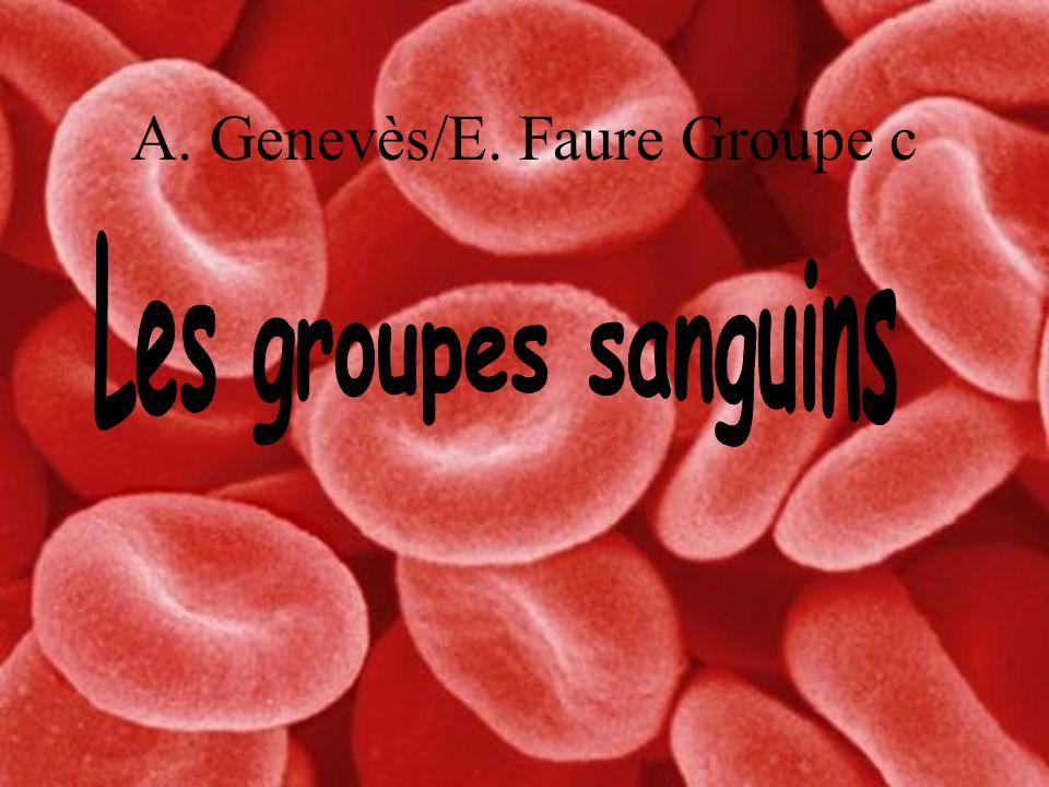 Introduction: Récapitulatif du système ABO La répartition des groupes sanguins dans le monde.
