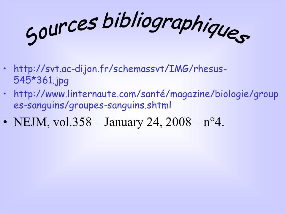 http://svt.ac-dijon.fr/schemassvt/IMG/rhesus- 545*361.jpg http://www.linternaute.com/santé/magazine/biologie/group es-sanguins/groupes-sanguins.shtml