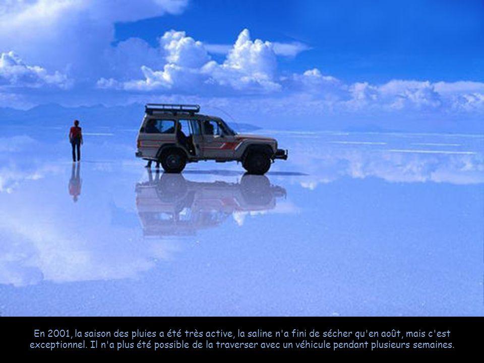 Une activité touristique se développe pour faire découvrir les paysages lunaires de ce site. Plusieurs pistes très visibles le traversent, le sol est