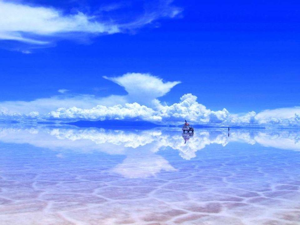 Cette étendue de sel, vestige d'un lac d'eau de mer asséché, est située à 3 658 mètres d'altitude. Avec une superficie de 12 500 km 2, elle constitue