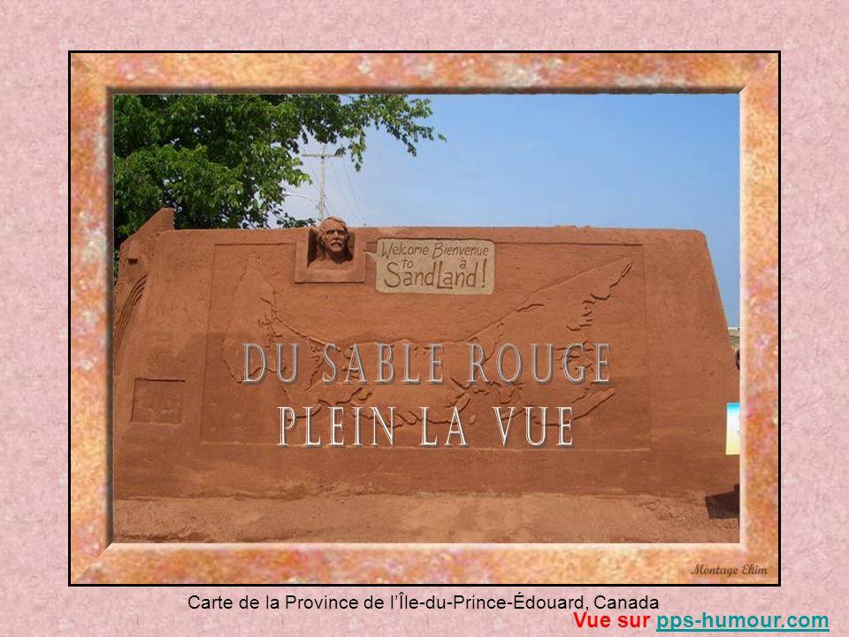 Carte de la Province de lÎle-du-Prince-Édouard, Canada Vue sur pps-humour.compps-humour.com