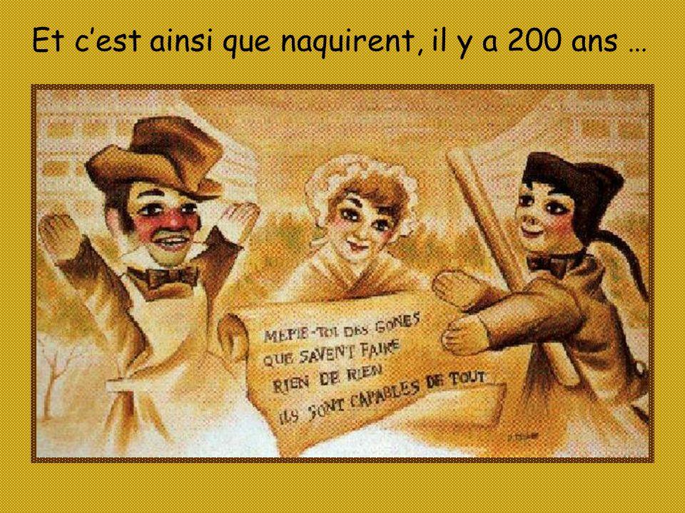 Les toutes premières marionnettes de 1808 Elles sont au Musée Gadagne.