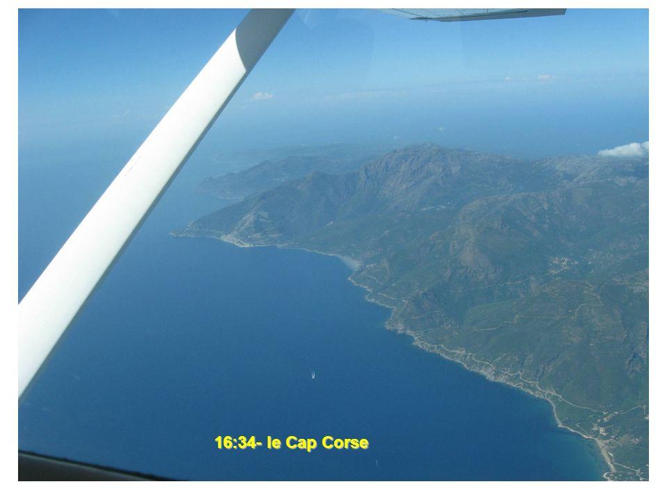 16:34- le Cap Corse