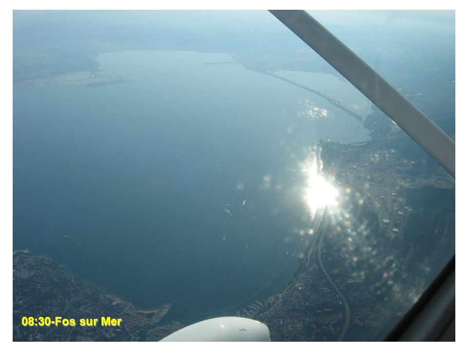 08:37- Marseille 08:30-Fos sur Mer