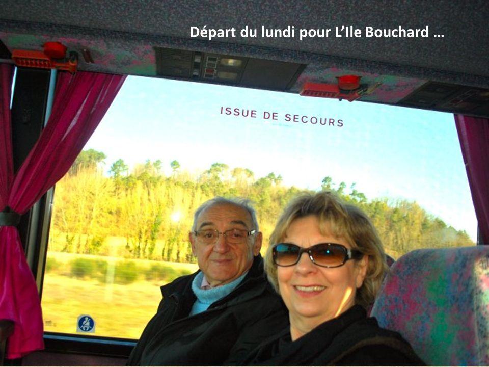 Départ du lundi pour LIle Bouchard …